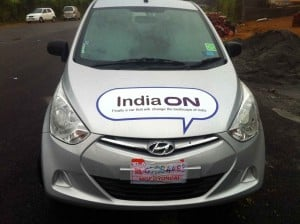 Hyundai EON photo front view
