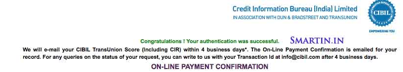 CIBIL registration